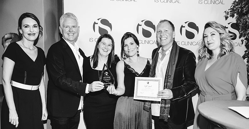 iS Clinical recognises Harpar Grace as top two global distributor