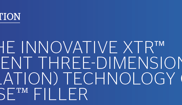 Meet the Innovative XTR™ (eXcellent Three-dimensional Reticulation) Technology of Definisse™ Filler