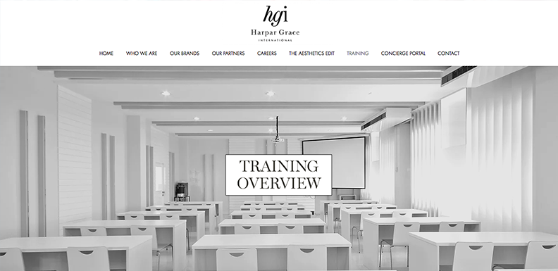 HARPAR GRACE Launch New Online Training Courses & New On-Demand Scheduling Service