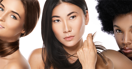 Hair aging differs by race, ethnicity