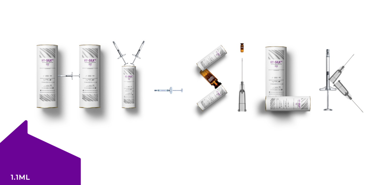 Silk Fibroin Lixivium Based Filler Gains CE Approval for Launch in the UK + Europe