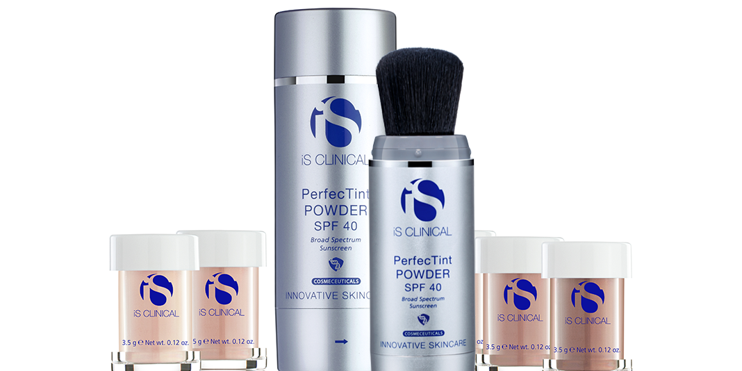 Harpar Grace announce the launch of NEW iS Clinical PerfecTint POWDER SPF 40